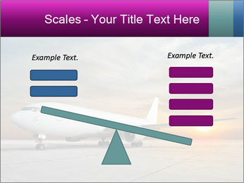Commercial airplane PowerPoint Template - Slide 89