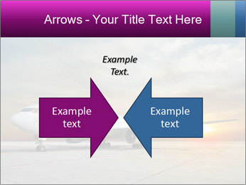 Commercial airplane PowerPoint Template - Slide 90