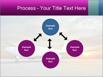 Commercial airplane PowerPoint Template - Slide 91
