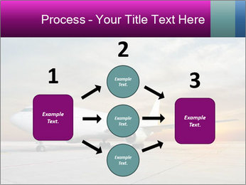 Commercial airplane PowerPoint Template - Slide 92