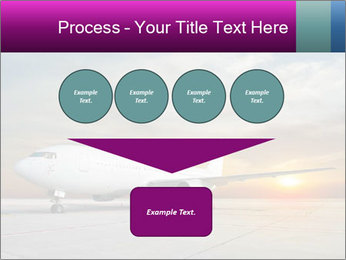 Commercial airplane PowerPoint Template - Slide 93