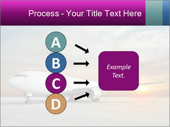 Commercial airplane PowerPoint Templates - Slide 94