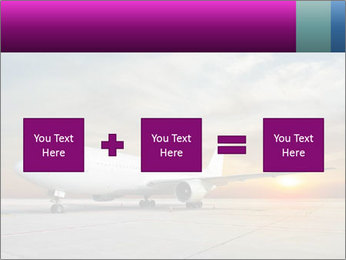 Commercial airplane PowerPoint Template - Slide 95