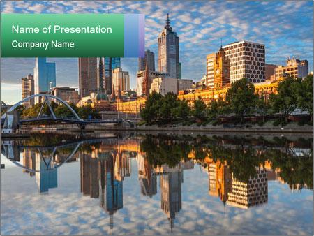 Melbourne CBD PowerPoint Templates