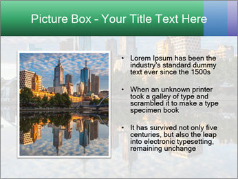 Melbourne CBD PowerPoint Templates - Slide 13