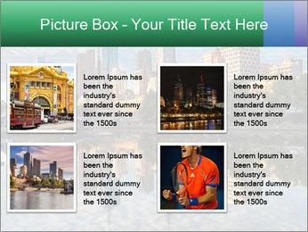 Melbourne CBD PowerPoint Templates - Slide 14
