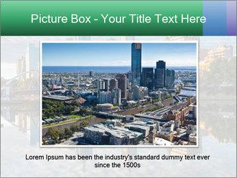 Melbourne CBD PowerPoint Templates - Slide 16