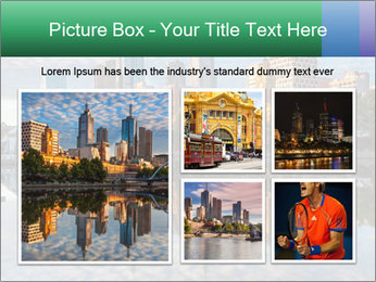 Melbourne CBD PowerPoint Templates - Slide 19
