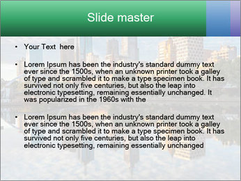 Melbourne CBD PowerPoint Templates - Slide 2