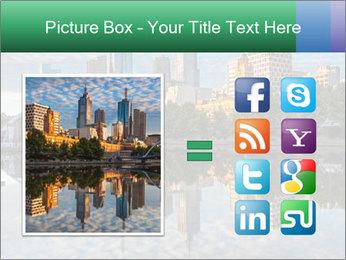Melbourne CBD PowerPoint Templates - Slide 21