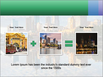 Melbourne CBD PowerPoint Templates - Slide 22