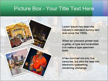Melbourne CBD PowerPoint Templates - Slide 23