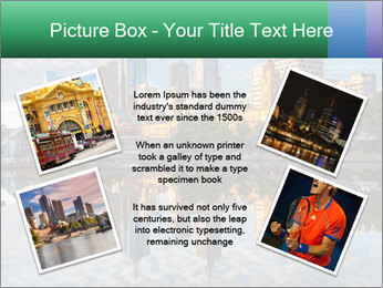 Melbourne CBD PowerPoint Templates - Slide 24