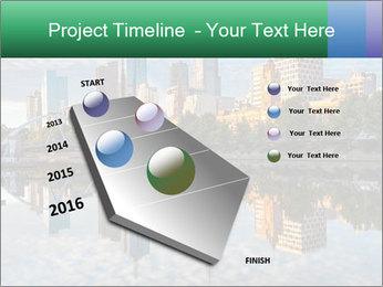 Melbourne CBD PowerPoint Templates - Slide 26