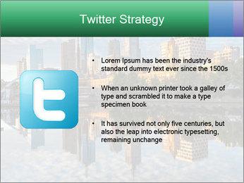 Melbourne CBD PowerPoint Templates - Slide 9