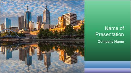 Melbourne CBD PowerPoint Template