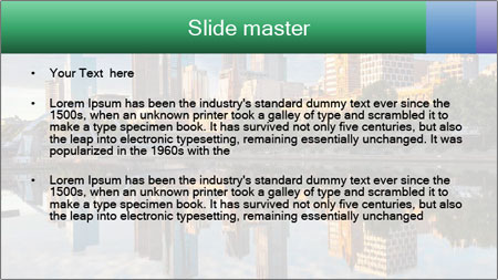 Melbourne CBD PowerPoint Template - Slide 2