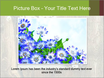 Chalkboard Banner with Flowers PowerPoint Template - Slide 16