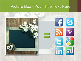Chalkboard Banner with Flowers PowerPoint Template - Slide 21