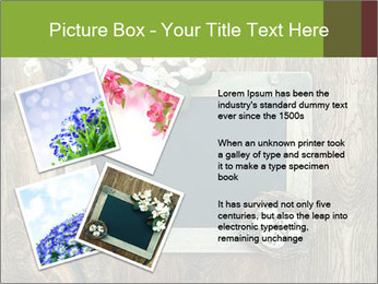 Chalkboard Banner with Flowers PowerPoint Template - Slide 23