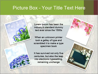 Chalkboard Banner with Flowers PowerPoint Template - Slide 24