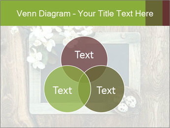 Chalkboard Banner with Flowers PowerPoint Template - Slide 33