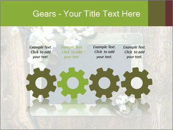 Chalkboard Banner with Flowers PowerPoint Template - Slide 48
