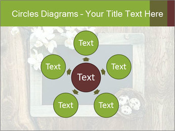 Chalkboard Banner with Flowers PowerPoint Template - Slide 78