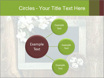 Chalkboard Banner with Flowers PowerPoint Template - Slide 79