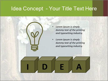 Chalkboard Banner with Flowers PowerPoint Template - Slide 80