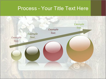 Chalkboard Banner with Flowers PowerPoint Template - Slide 87