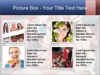 Six laughing people PowerPoint Templates - Slide 14