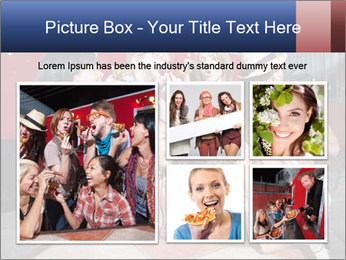 Six laughing people PowerPoint Templates - Slide 19