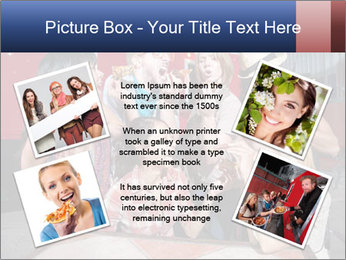 Six laughing people PowerPoint Templates - Slide 24