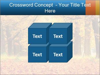 Beautiful autumn forest PowerPoint Template - Slide 39