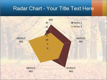 Beautiful autumn forest PowerPoint Template - Slide 51