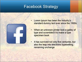 Beautiful autumn forest PowerPoint Template - Slide 6