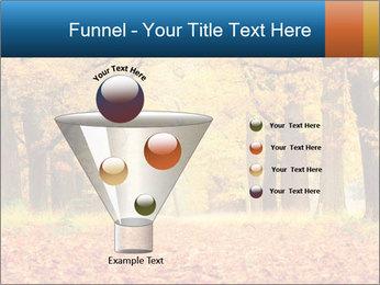 Beautiful autumn forest PowerPoint Template - Slide 63