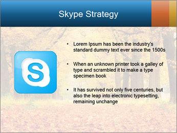 Beautiful autumn forest PowerPoint Template - Slide 8