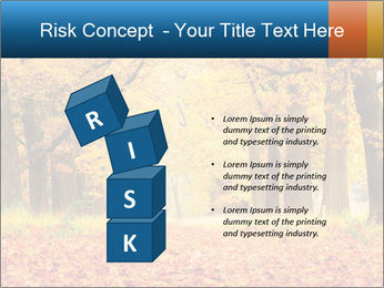Beautiful autumn forest PowerPoint Template - Slide 81