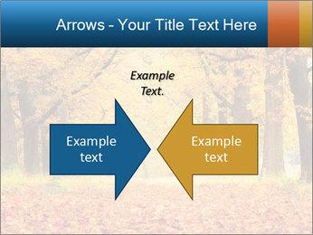 Beautiful autumn forest PowerPoint Template - Slide 90