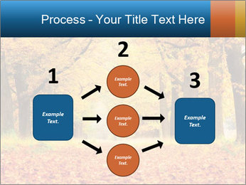 Beautiful autumn forest PowerPoint Template - Slide 92
