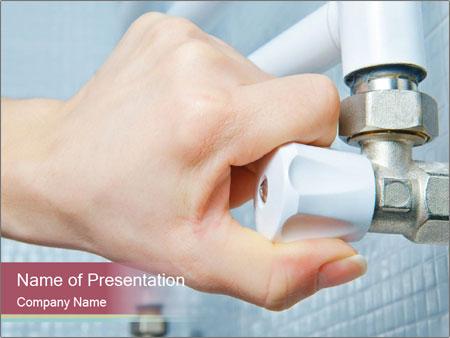 Open valve PowerPoint Templates