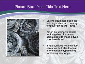 Blue Jeans PowerPoint Templates - Slide 13