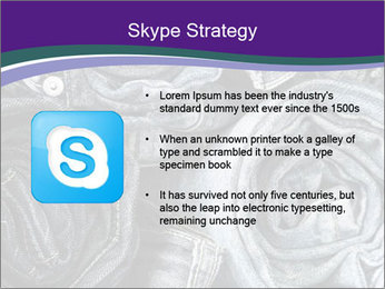 Blue Jeans PowerPoint Templates - Slide 8