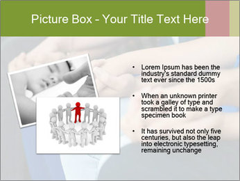 Holding people hands PowerPoint Template - Slide 20