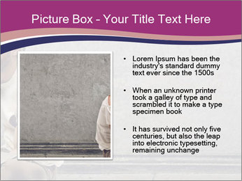 Tramp sitting PowerPoint Template - Slide 13