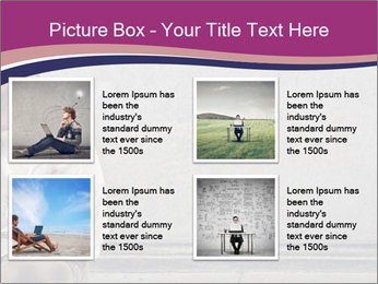 Tramp sitting PowerPoint Templates - Slide 14