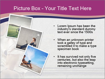 Tramp sitting PowerPoint Templates - Slide 17