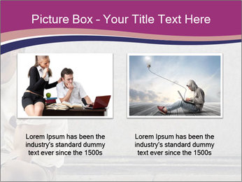 Tramp sitting PowerPoint Templates - Slide 18